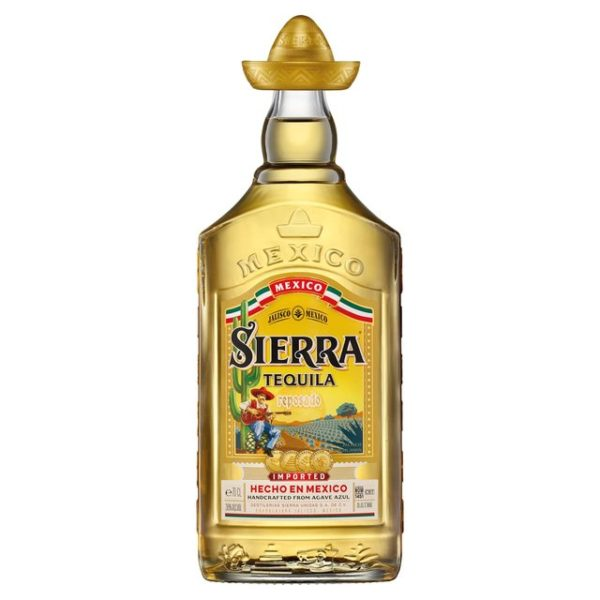 Sierra Tequila Gold Alcohol Delivery Wirral