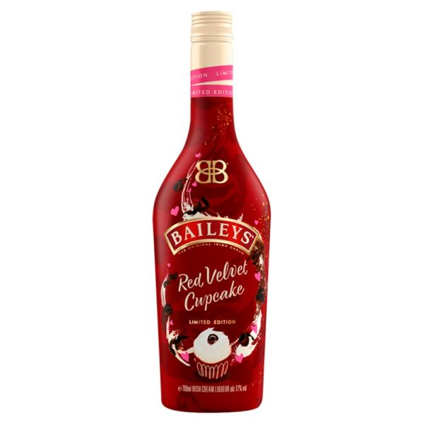 Baileys Red Velvet Cupcake Alcohol Delivery Liverpool